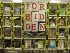 Fabulous Banned Books Week display. (Image credit: yaketyaks.com)